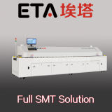 Grande taille 8 zones Hot Air SMT Reflow Oven