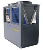 Chambre élevée de région froide de cop de 38.2 kilowatts employant avec la subsistance reconnue par TUV de la CE fonctionnant la basse température pour la pompe à chaleur air-eau d'Evi 55 degrés