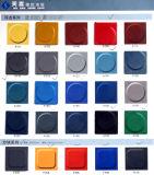 ゴム製シート、円形の点のゴム製フロアーリング、布の挿入のゴムシート