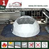 Wasserdichtes und flammhemmendes Abdeckung-Zelt mit Wechselstrom, halber Bereich-Zelt für Verkauf