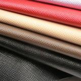 Heißes verkaufenpu-Lederimitat mit Kreuz-Heftung Beschaffenheit für Beutel-Gewebe-Material