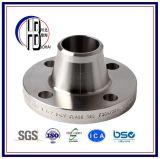 Flange da garganta da Encaixe-Soldadura da tubulação de aço de carbono, ASTM