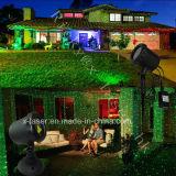 Лазерные лучи ландшафта сада /Waterproof светов рождества лазера /Outdoor лазерных лучей рождества X-23p красные зеленые напольные