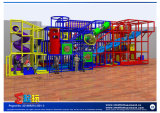 Equipo de interior popular seguro del patio del Ce para los niños