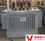Transformateur immergé dans l'huile de S11-800kVA/transformateur de tension/transformateur