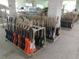 Precio barato de la fábrica de la guitarra eléctrica del St con el bolso del carruaje de la guitarra