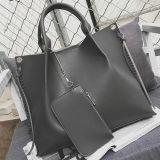 A parte superior marca mulheres grande bolsa compra em linha saco de Tote macio com carteira Sy8180