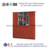 Moderna 4door Oficina Librero Muebles de oficina de madera Hecho en China (C31 #)