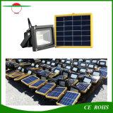 projecteur solaire du panneau solaire DEL de la lumière d'inondation de jardin de 12LED SMD3528 IP65 6V 3W avec la batterie 2200mAh