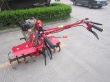 良質の長い回転式耕うん機の刃を持つディーゼル燃料の手動カルチィベーター