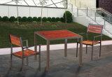 Durable Outdoor Modern Simple Table atmosphérique avec chaise Mobilier de jardin