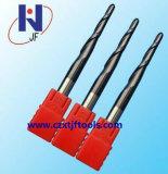 R0.75 * 3 * D4 * 50 * 4t Carbure solide de haute qualité 4 Flute Ball Nose End Mill Cutters