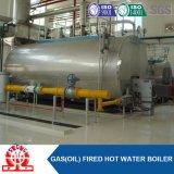 Caldaia a vapore a petrolio pesante del tubo di fuoco e dell'acqua