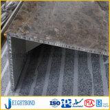 L Comité van de Honingraat van het Aluminium van de Steen van de Vorm het Marmeren voor Decoratie van de Bouw
