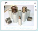 ヒーターとして熱交換のFinned管が付いている空気暖房