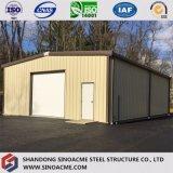 Sinoacmeからの倉庫のためのプレハブの軽い戸枠の鋼鉄構築