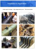 Tubo del PE del PE 100 di alta qualità PE80 per il rifornimento idrico