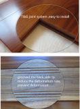 手によって擦られるモンゴルのチークの堅材のフロアーリング