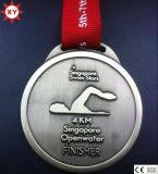 2015 Medallas de la concesión Forma de Estrella caliente de la venta Escuelas de Deportes
