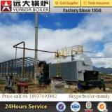Tipo caldaia a vapore di Dzl infornata carbone di capienza 1.25MPa 1.6MPa 2.5MPa di 4ton con l'alimentatore di griglia Chain