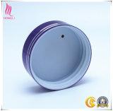 Reciclable Aluminio Cilindro de Metal Cosméticos Contenedor Tornillo Tapas para el paquete