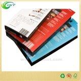 Книга книга в твердой обложке полосы цвета H&T портрета с поставщиком печатание куртки (CKT-NB-424)