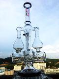 Conduite d'eau en verre de vente chaude de recycleur neuf de modèle avec le prix de gros