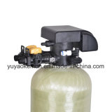 Emolliente spaccato del sistema automatico dell'addolcitore dell'acqua