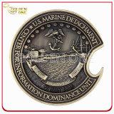 Moneta Bronze antica su ordinazione di sfida del regalo del ricordo 3D