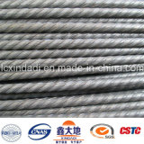 fio de alta elasticidade do concreto Prestressed de 6mm para Pólo elétrico concreto