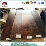 Suelo de madera barato del vinilo del grano del surtidor profesional