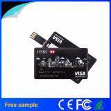 Entraînement par la carte de crédit de crayon lecteur d'affaires colorées libres de l'impression 16GB