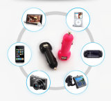 Ce RoHS keurde Lader van de Auto van de Telefoon van de Cel van 2 de Dubbele Havens USB goed
