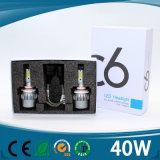 Autoteil-Zubehör-Auto-Scheinwerfer oder Scheinwerfer, 4500lm Automobil-LED Scheinwerfer-Birnen, H13 H4 LED Lichter