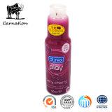 Nuevos juguetes del sexo de los lubricantes del gusto de la cereza dulce