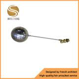 Válvula de esfera flutuante com corpo de aço inoxidável