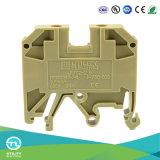 Conector eléctrico del bloque de terminales Jut2-2.5 Dinrail de tornillo