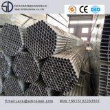 Carbon Q235 S235jo Tubo de aço redondo pré-galvanizado para construção de aço