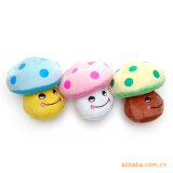 Giocattoli personalizzati ecologici della sfera dell'animale domestico della stringa farciti peluche di masticazione
