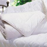Duvet poli da fibra do hotel para o Quilt branco do Comforter da base (DPF201618)