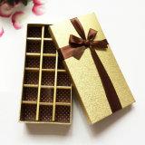 Rectángulo de empaquetado del chocolate de la cartulina para el regalo