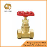 Válvula de controle de bronze do volume de água da válvula de porta