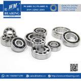 Rodamiento de bolitas de cerámica híbrido de alta velocidad de alta temperatura 6211