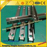 Aluminum Profil Tube avec Taille CNC traitement profond sur mesure