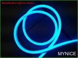 Pleins signes au néon imperméables à l'eau d'éclat de Hight de lumière de corde de 12V DEL