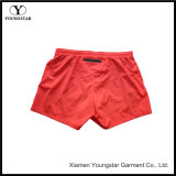 Womens Girls Ladies Red Elastic Stretch Quick Dry Shorts