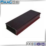 Profil de guichet de barrières thermiques et d'aluminium de porte