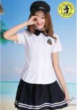 Chemises blanches d'uniforme scolaire bon marché/modèle de chemises polo d'uniforme scolaire