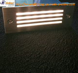 Luz al aire libre 2W Paso LED de iluminación en IP65 con cubierta 304ssl