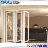 Porte en aluminium se pliante de modèle du propriétaire 6063 T5